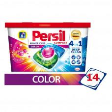 Капсулы для стирки Persil 14*15гр Power Caps Color Compact 4в1