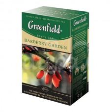 Чай Greenfield 100гр Barberry  Garden Черный Листовой