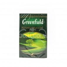 Чай Greenfield 100гр Flying Dragon Зеленый Листовой