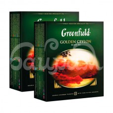 Чай Greenfield 100*2гр  Golden Ceylon Черный