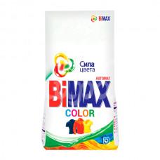 Стиральный порошок Bimax  3кг Колор Автомат  пакет