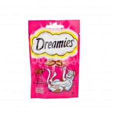 Корм для кошек Dreamies 30гр Лакомые подушечки с Говядиной пакет
