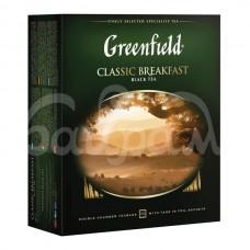 Чай Greenfield 100*2гр Classik Breakfast Черный