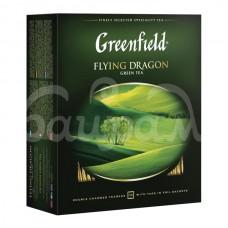 Чай Greenfield 100*2гр Flying Dragon Зеленый