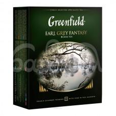 Чай Greenfield 100*2гр Earl Grey Fantasy Черный