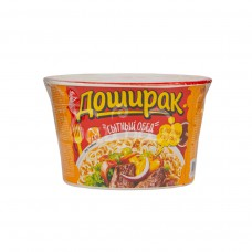 Лапша б/п  Сытный Обед Доширак  110гр Вкус говядины чашка