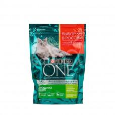 Корм для домашних кошек Пурина Ван 200гр Индейка Цельные злаки пакет