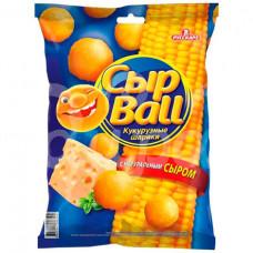 Завтрак сухой Русскарт 140гр Кукурузные шарики Вкус сыра пакет