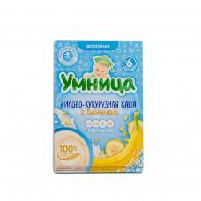 Детское питание Каша Умница 200гр Молочная Рисово-кукурузная Банан