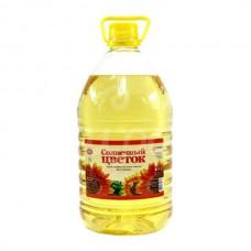 Масло растительное Солнечный Цветок 4.7л Подсолнечное Рафиниров 1с пэт