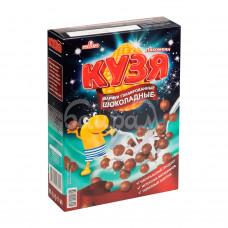 Завтрак сухой Кузя Лакомкин 215гр Шарики Глазиров Шоколадные карт/уп