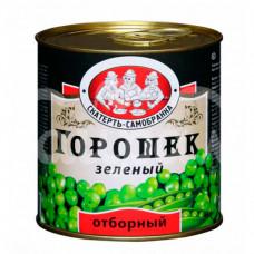 Горошек зеленый Скатерть Самобранка 425мл/400гр ГОСТ ж/б