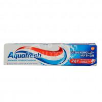 Зубная паста Aquafresh  100гр Освежающе-мятная