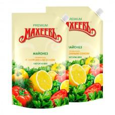 Майонез Махеев 50.5% 770гр Премиум с Лимонным соком дой-пак