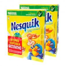 Завтрак сухой Несквик 250гр+250гр Шоколадные шарики промо карт/уп