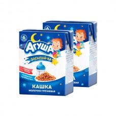 Детское питание Кашка Агуша Засыпай-ка 200гр Молочно-гречневая
