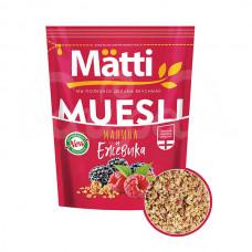 Мюсли Matti 250гр с Ежевикой и Малиной пакет
