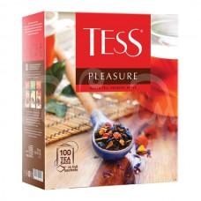 Чай Tess 100*1.5гр  Pleasure Черный