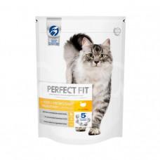 Корм для кошек  Perfect Fit 190гр с Чувствительным пищеварением Индейка