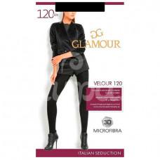 Колготки Glamour Velour 120den Р5 Nero
