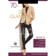 Колготки Glamour Velour 70den Р4 Nero