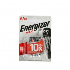 Батарейка Energizer Max 2шт AA LR6 блистер