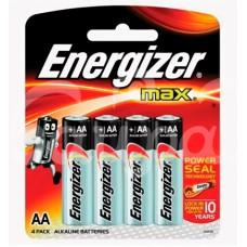 Батарейка Energizer Max 4шт AA LR6 блистер