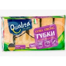 Губка для посуды Qualita Extra Strong 5шт