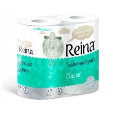 Бумага туалетная Reina Classic 2сл 4шт