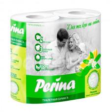 Бумага туалетная Perina Premium 3сл 4шт Нероли Аромат цветков апельсина