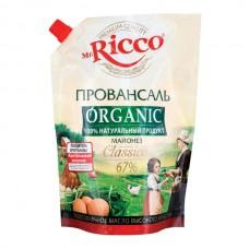 Майонез Mr.Ricco Organic 67% 800мл Провансаль дой-пак