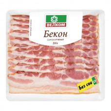 Бекон из Свинины 200гр с/к Велком  нарезка в/у