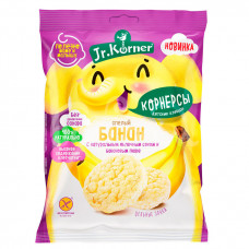Хлебцы мини Dr.Korner 30гр Рисовые с Бананом пакет