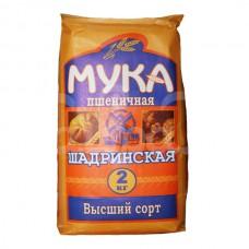 Мука 2кг Пшеничная Хлебопекарня в/с Шадринский КХ