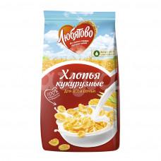 Завтрак готовый Любятово 300гр Хлопья кукурузные пакет
