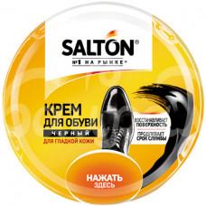 Крем для обуви Salton  50мл Черный ж/б
