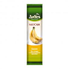 Батончик Мюсли DiYes 25гр Банан с Шоколадными каплями без сахара