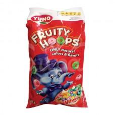 Завтрак сухой Джуно Фрут Хупс 250гр Злаковые колечки Вкус фруктов пакет