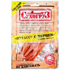 Рыбка путассу Сухогруз 70гр с перцем Сушено-вяленая