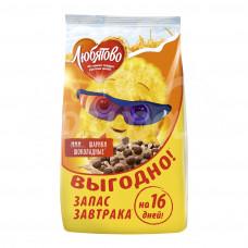 Завтрак сухой Любятово 500гр Шоколадные шарики пакет