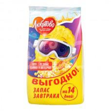 Завтрак сухой Любятово 420гр Медовые шарики и Звездочки пакет