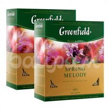 Чай Greenfield 100*1.5гр  Spring Melody Черный