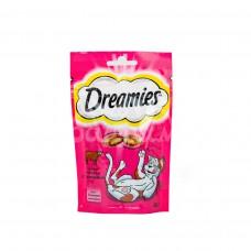 Корм для кошек Dreamies 60гр  Лакомые подушечки с Говядиной пакет