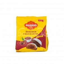 Пряники Яшкино 350гр Вишневая начинка пакет