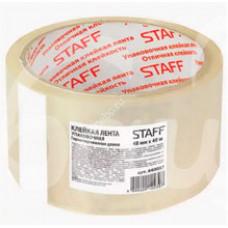 Лента клейкая Staff 40м Упаковочная Прозрачная 440087