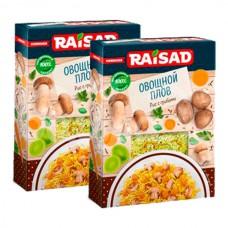 Гарнир Raisad 255гр Овощной плов Рис с Грибами карт/уп