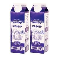 Кефир Чишминский  3.2% 1000гр пюр-пак