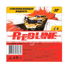 Жидкость стеклоомывающая Red Line 4л -30С пэт