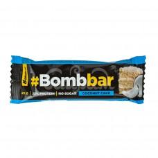 Батончик Bombbar 40гр Протеиновый Кокосовый торт Глазированный