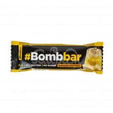 Батончик Bombbar 40гр Протеиновый Банановый пудинг Глазированный